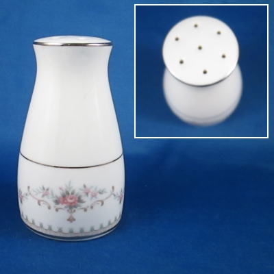 Noritake Fairmont pepper shaker (AS IS - has a crack)